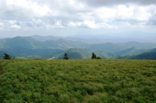 A View from Round Bald, Tennessee