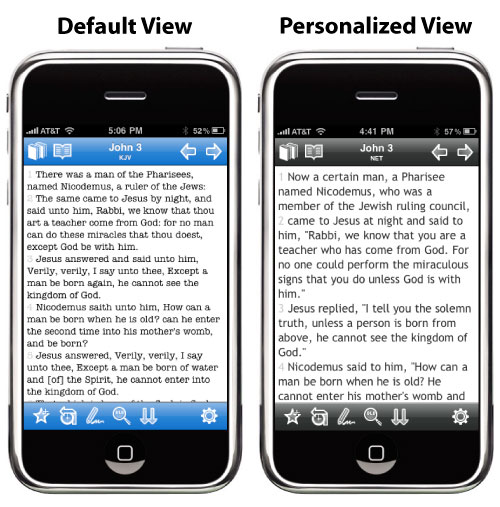 Blue Letter Bible for iPhone Screenshots