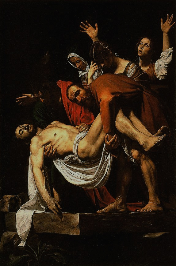The Deposition of Christ, by Caravaggio