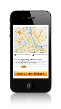 The Church Picker app