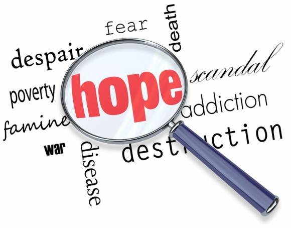 Finding hope amidst bad news