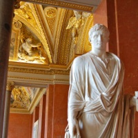 Statue of Caesar Augustus in the Louvre
