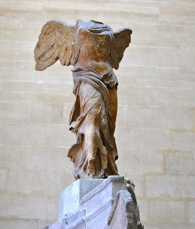 front view photo of Winged Victory