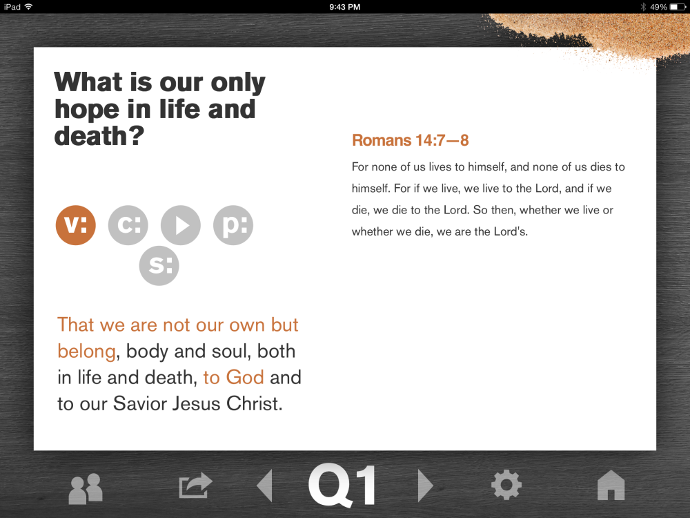 The New City Catechism iPad App Review (and Why It's Worth Your Time)