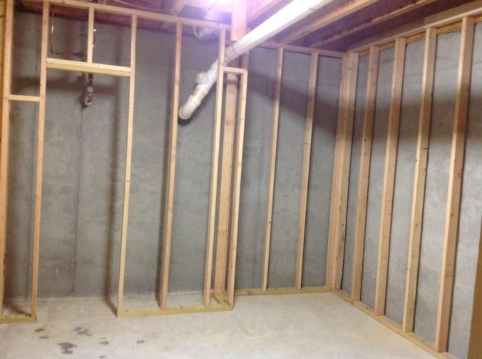 framing my basement