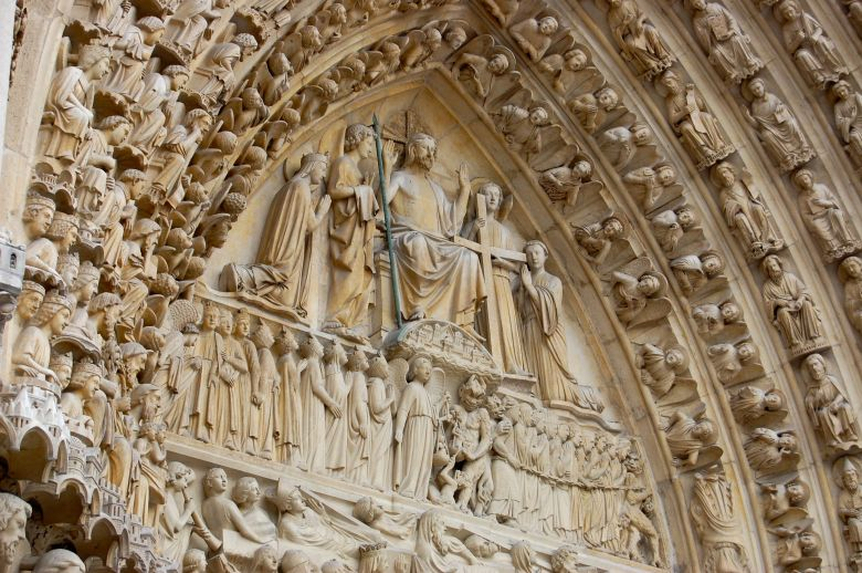 Relief of Jesus Enthroned