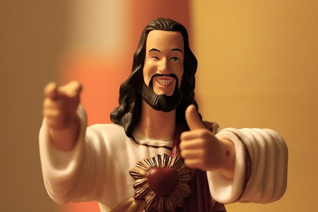 "Statue of ""buddy Christ"""