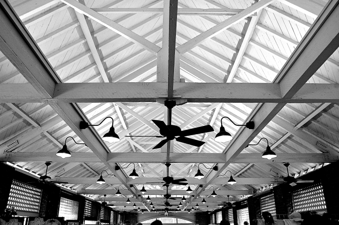 Ceiling of Charleston City Market