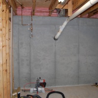 Photo Friday: Building a Basement Storage Room