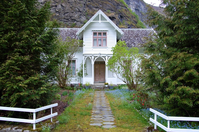 A Cottage in Lunden, Norway