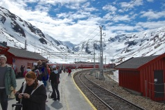 Looking West at Myrdal Station