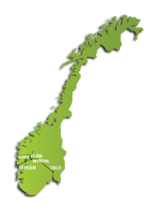 Norway in a Nutshell Route
