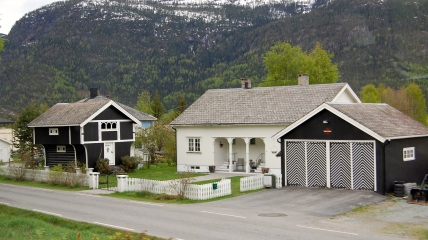 Many norwegian homes still have a traditional guest house