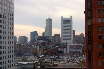 Boston from the Renaissance Hotel