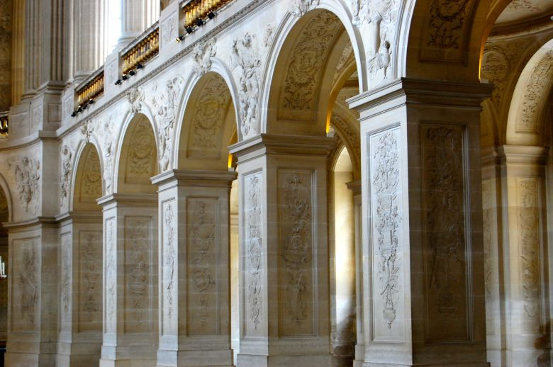 Chapel Columns in Versaille