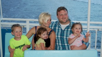 Hans, Ellie and family