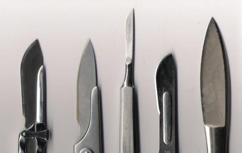 image of scalpels