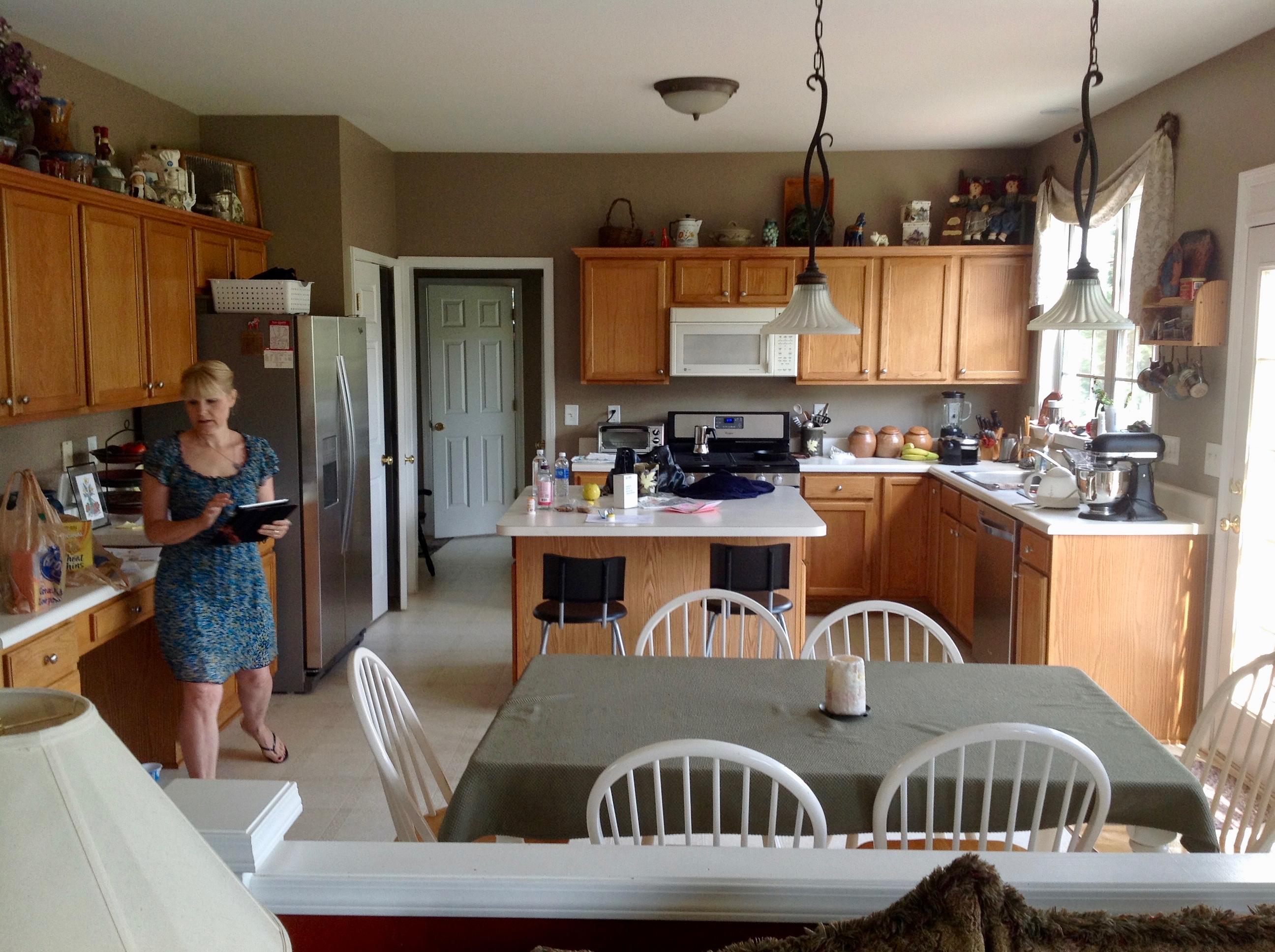 Our Kitchen Prior To Demolition