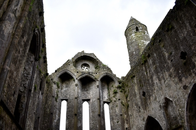 Ruined Cathedral, The Rock of Cashel, Tipperary, Ireland