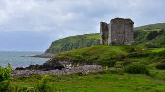 Castle and Field, Dingle Peninsula