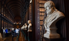 Philosophers, The Old Library, Trinity College, Dublin