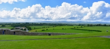 Plain of Tipperary from The Rock of Cashel