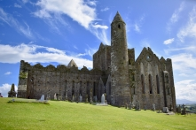 The 1,000-year-old Round Tower, Rock of Cashel