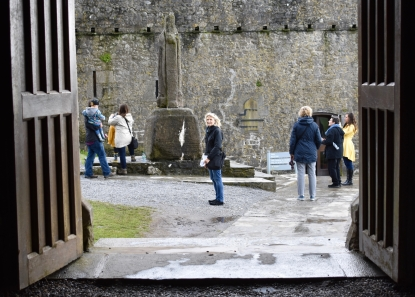 Exploring the Rock of Cashel, Tipperary, Ireland