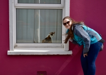 Haley made a friend in Dingle