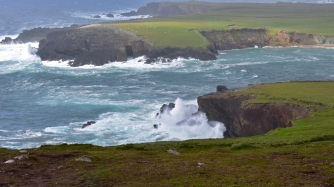 Surf and Cliffs, Dingle Peninsula