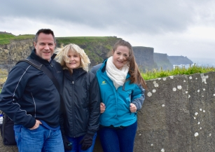 At The Cliffs of Moher