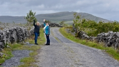 Dawn and Haley enjoying The Burren