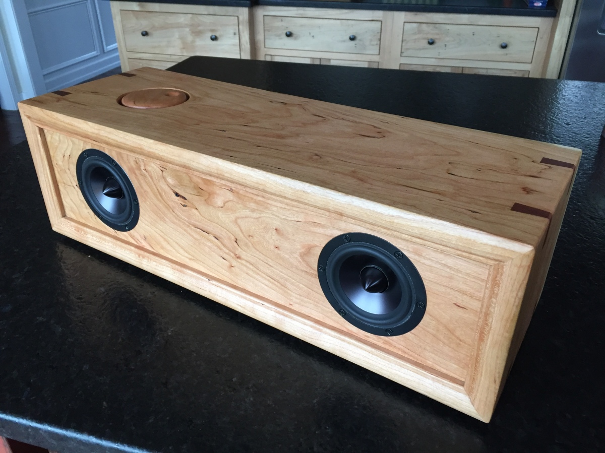 DIY Bluetooth Speaker in Spalted Cherry