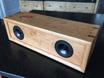diy bluetooth speaker in spalted cherry average us